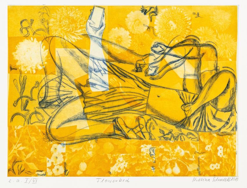 Radierung / 42 cm x 30 cm / Herausgegeben von Vlado & Maria Ondrej Atelier für zeitgenössische Radierung Leipzig