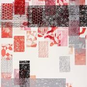Radierung / Mehrfarbig/ 210 cm x 120 cm